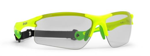 Trail Running sunglasses with photochromic dchrom lenses trail model neon yellow