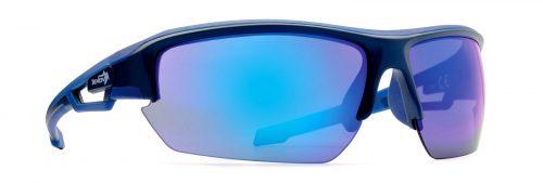 all sports sunglasses mirror lenses look model matt blue