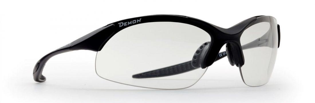 Photochromic all sports sunglasses with ultralight frame 832 model matt black