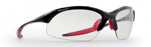 photochromic running sunglasses with ultralight frame 832 model carbon red