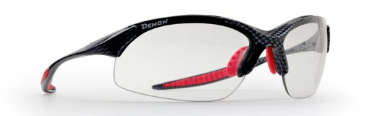 photochromic running sunglasses with ultralight frame 832 model carbon red