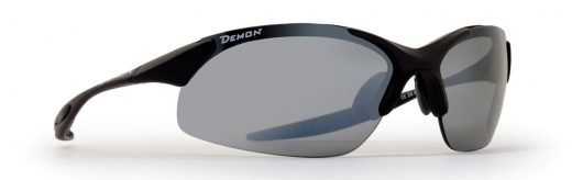 Road Running sunglasses mirrored interchangeable lenses and ultralight frame 832 dchange matt black