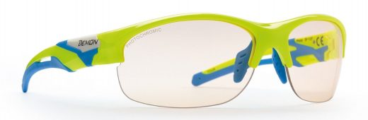 running sunglasses photochromic lenses tour model neon yellow
