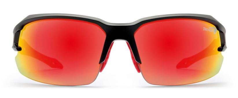 Running sunglasses tiger model mirrored lenses