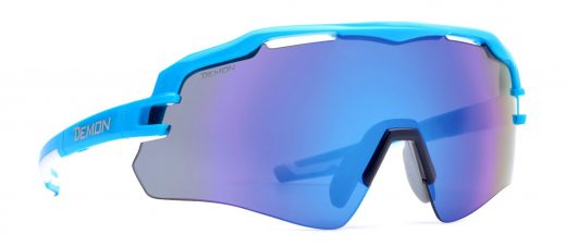 single lens running and trail running glasses with mirror lens imperial model