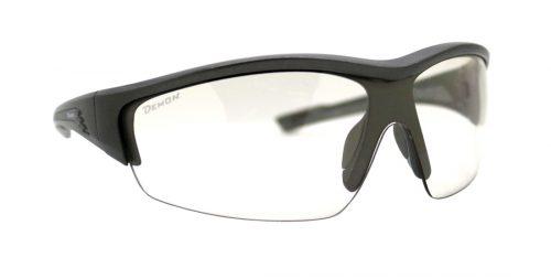 single lens running mask glasses graz model photochromic lens shiny grey