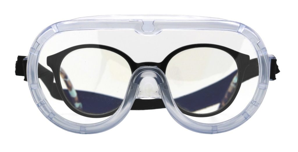 PPE (Personal Protective Equipment) external agents / particles eyes protection