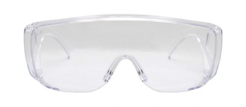 Transparent lens eye protection glasses T6532