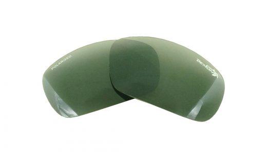 Bowl replacement polarized lenses silver mirror
