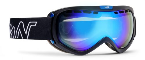 OTG photochromic mirrored ski goggle raptor model
