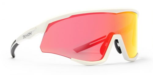 Road Running sunglasses mirrored lens withe frame wallone model
