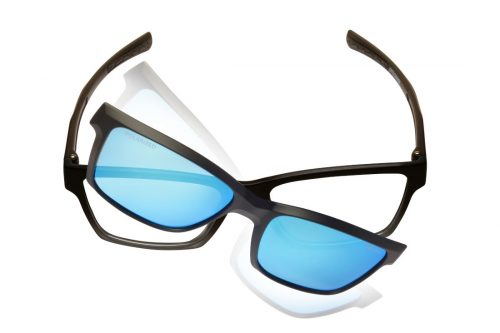 Eyewear for all sports with polarized lenses opto change model