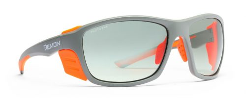 Photochromic mountaineering glasses planet model grey orange