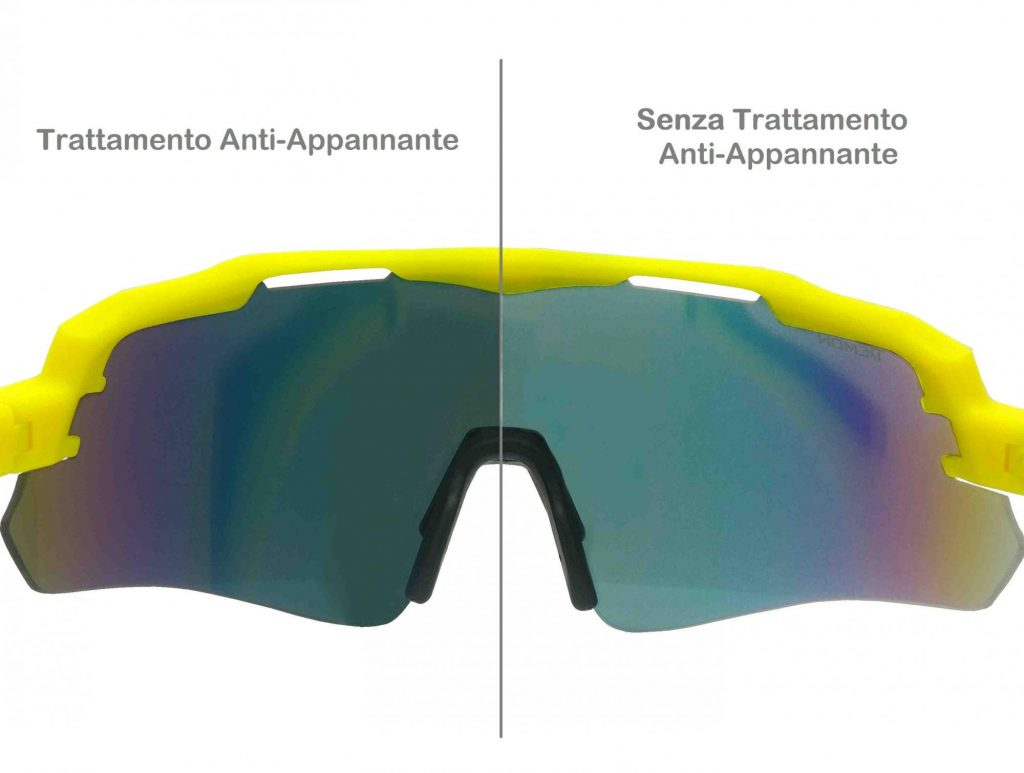 Antifog Threatment for sports glasses