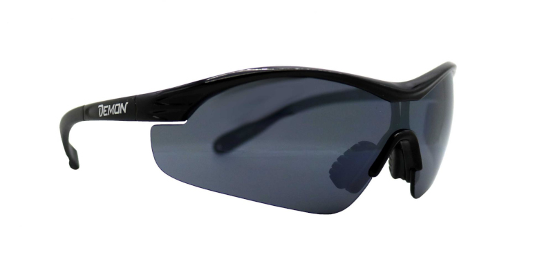 Balistic glasses with smoke lens