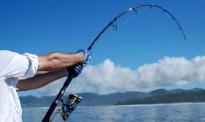 Sport sunglasses for fishing and water sports